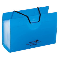AQUA DROPs Point Card Holder 20 Pieces Blue