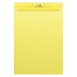 AQUA DROPs Ultra-Thin Clipboard A4 Yellow