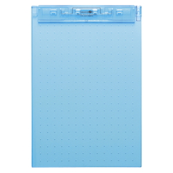 AQUA DROPs Ultra-Thin Clipboard A4 Blue
