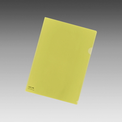 Color Clear Holder A4 Crystal Yellow, Vertical 310 X Horizontal 220 mm