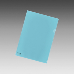 Color Clear Holder A4 Water Blue