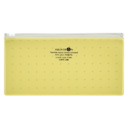 Clear Case, Pen Size, Yellow