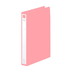 Ring File A4 Portrait Type (Spine Width 36 mm) Pink
