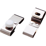 Goggles Clip, Stainless Steel, for Groove-Less