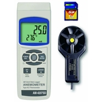 SD Card Datalogger Digital Anemometer AM-4207SD