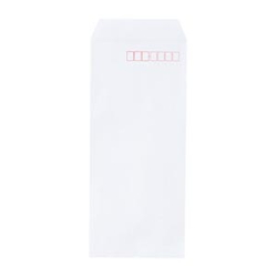 Set of 100 Envelopes for Office Use 90 x 205 mm White