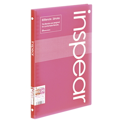 B5 File Note Inspear Pink