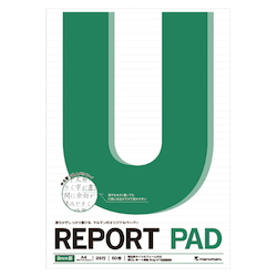 Report Pad A4 Scale Included 8 mm Line