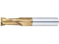 TSC Series Carbide Square End Mill, 2-Flute/2D Flute Length (Short) Model
