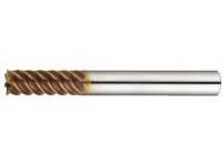 TSC Series Carbide High-helical End Mill (Cutting Edge Deflection Accuracy of 5μm or less)