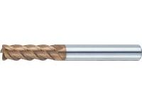 TSC Series Carbide Radius End Mill, 4-Flute, 45° Regular Model