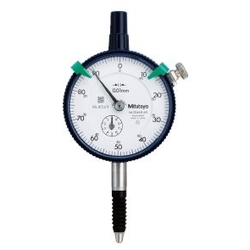 2 Series Regular Dial Gauge, Waterproof Type, Scale Interval 0.01 / 0.001 mm Type (Mitutoyo)