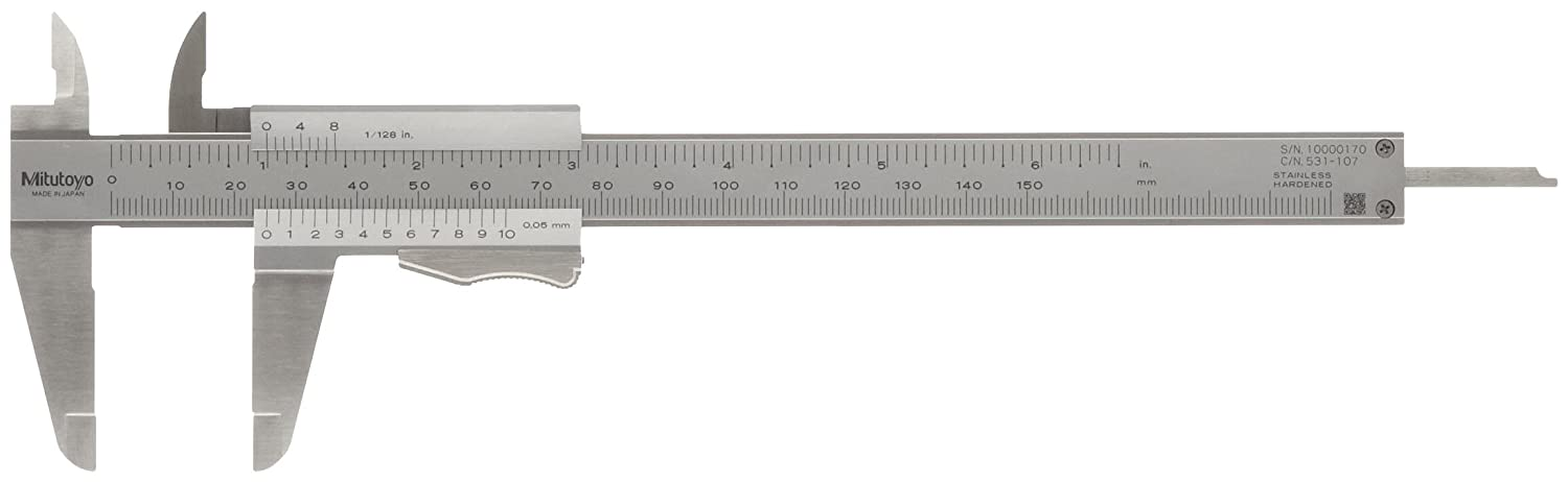 Vernier Caliper 531 Series - with thumb clamp (MITUTOYO)