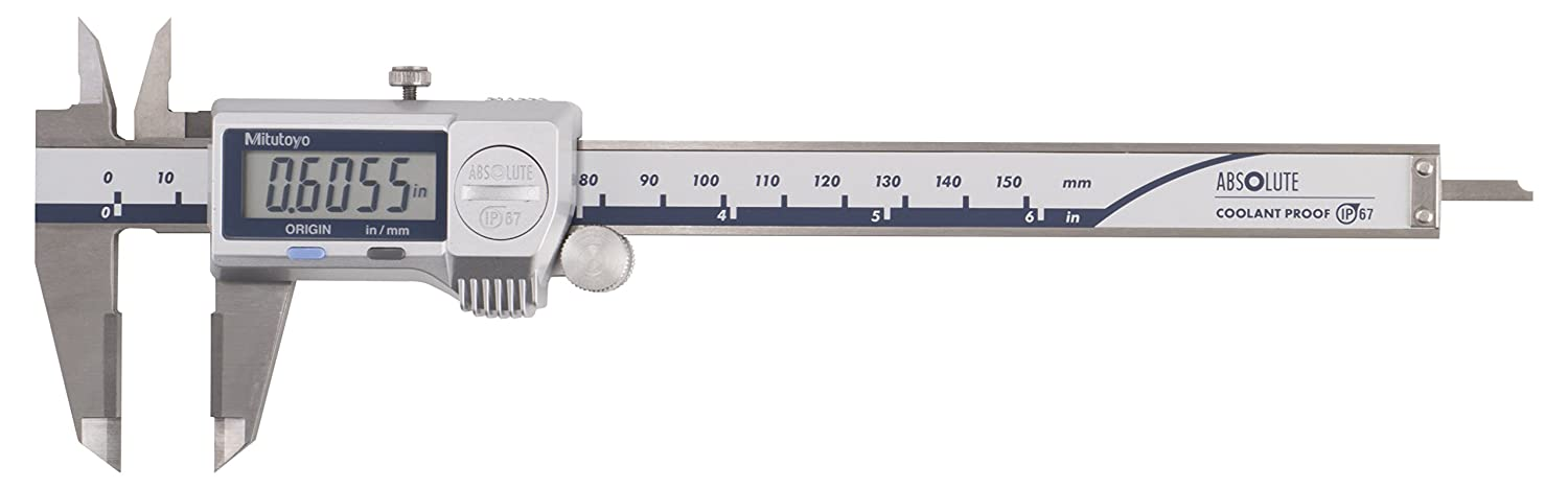 ABSOLUTE Coolant Proof Caliper SERIES 500 — with Dust/Water Protection Conforming - IP67 Level (MITUTOYO)