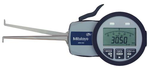 Digimatic Caliper Gage Series 209-Internal Tube Thickness Measurement Type (Mitutoyo)