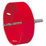 S-Lock Bimetal Hole Saw for Plastic Manhole Covers