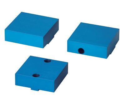 Aluminum Double Clamp Vise Cap Set