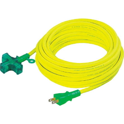 Short Tap Extension Cord Fire Outlet (3 Mouth) Cross Tap