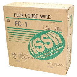 Wire with Flux (for Mild Steel / 490 - 550 MPa Class High Tension Rope) FC-1