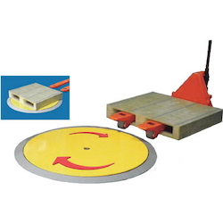 Turntable for Hand-Operated Pallet Truck