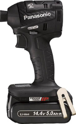 Chargeable Impact Driver, 14.4 V, 5.0 Ah, Black