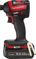 Chargeable Impact Driver, 18V, 5.0 Ah, Red