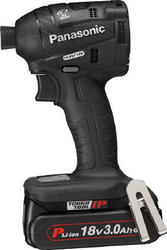 Chargeable Impact Driver, 18 V, 3.0 Ah, Black
