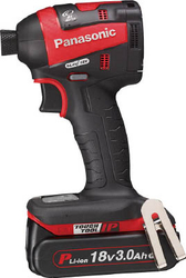 Chargeable Impact Driver, 18 V, 3.0 Ah, Red