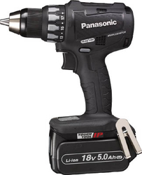 Chargeable Drill Driver, 14.4 V, 5.0 Ah (Black)