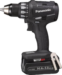 Chargeable Drill Driver, 18 V, 5.0 Ah (Black)