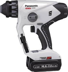 Chargeable Multi Hammer Drill,14.4 V, 5.0 Ah, Gray