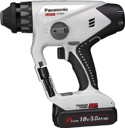 Chargeable Multi Hammer Drill,18 V, 5.0 Ah, Gray