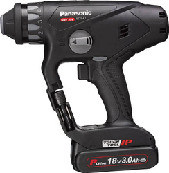 Chargeable Multi Hammer Drill,18 V, 3.0 Ah, Black