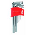 L-Shape Hex Key Set - 0.71mm to 10mm, Available in 6 or 9 Piece Sets, 210H Series (PB SWISS TOOLS)