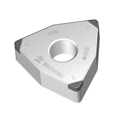 CBN Insert for Hardened Steel Processing with Hexagonal Hole 80° WNGA