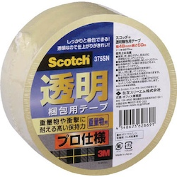 Scotch Transparent Packing-Use Tape 375 Series (Professional Specifications)