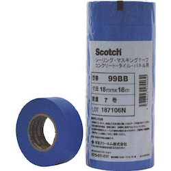 Scotch® Sealing Masking Tape (Concrete / Tile / Panel-Use)