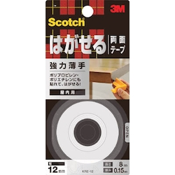 Removable Double-Sided Tape Heavy-Duty Thin