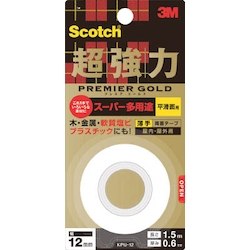 Scotch Ultra-Strong Double-Sided Tape Premium Gold Super Multi-Purpose Thin