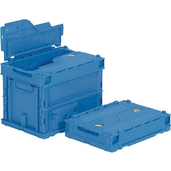 Folding Container, Sanklet Oricon, Main Body with Integrated Lid Capacity (L) 18.8