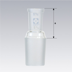 Ground Glass Joint Connecting Tube Different Diameter Reducer