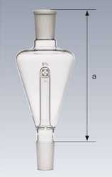 Ground Glass Joint Erlenmeyer Flask Trap