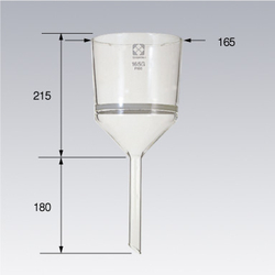 Glass Filter 165G Büchner Funnel Type