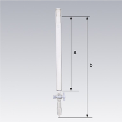 SPC Chromatographic Column, with PTFE Valve, with Filter