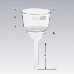 Buchner Funnel Glass, Perforated Plate Type