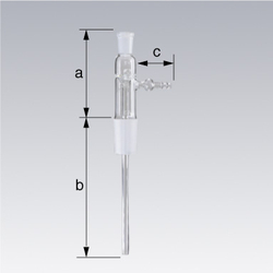 Ground Glass Joint Exhaust Tube
