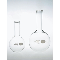HARIO Round Bottom Flask 50 ml to 2 L
