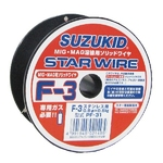Star Wire, F-3, for Solid Wire Stainless Steel 0.8φ X 0.5 kg