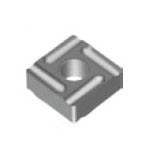 Square-Shape With Hole, Negative, SNMG-HM, For Medium To Rough Cutting