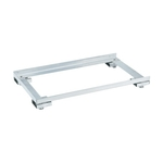 Stainless Steel Storage Unit - Optional Adjuster Base